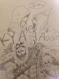 (yaoi)AlexAltair 2 by Kyu3118