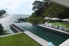 La Villa Amanzi - Une piscine qui donne le vertige