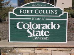 Welcome to Colorado State University in Fort Collins, CO by coloradoarchery, via Flickr