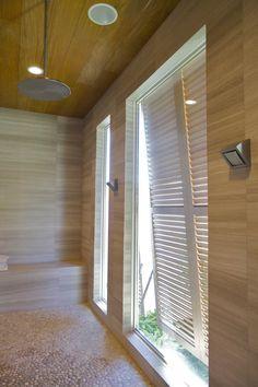 Louvered Shutters, North Shore, Kitchen And Bath, Teak, Photo Galleries,  Ceiling, Bathrooms, Bath Room, Master Bathrooms, Powder Rooms, Bathroom,  Toilet