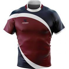 Scorpion Rugby Shirt Design 11