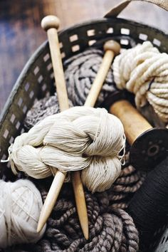 I love the styling and mood in this picture, just grab the needles and start working. #WoolWeek #CampaignForWool