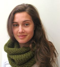 Hand Knitted Cowl Scarf  The Classic Cowl  Wool by meganEsass, $35.00