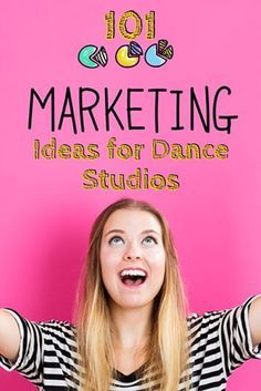 Need some ideas to boost your studio's marketing methods? Try out any of our 101 marketing ideas for dance studios and see your student numbers soar!