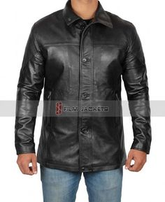black leather jacket for men - best choice for  winteroutfits and   giftideas Leather Jackets ba4165b72326