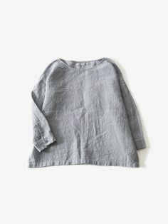 linen washer pullover