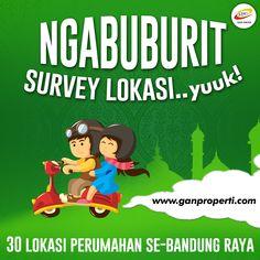 NGABUBURIT Mending Sambil Survey Lokasi.. 30 Lokasi Perumahan Se-Bandung Raya dari GAN PROPERTI siap disurvey!  Tunggu apalagi.. Yuuk Berangkatt...  Info hubungi 0812 3238 5000 (Telp/WA) Pricelist download di www.ganproperti.com  #house #rumahnyaman #properti #perumahan #property #realestatelife #realestate #rumah #rumahminimalis #rumahku #rumahbandung #perumahanbandung #survey #like4like #jualrumah #ganproperti #lokasistrategis #rumahbaru #ramadhan #houseoftheday #home #forsale #homestyle