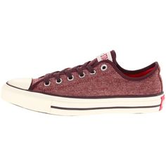 Converse Chuck Taylor® All Star® Ox Brushed Speckled Twill ($44) ❤ liked on Polyvore