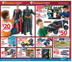 Walmart Black Friday 2013 Ad Page 27 Ad - #blackfriday #sales #deals #coupons #actionfigures #trucks #remotecontrol #tonka #nerf #hotwheels #thomasthetrain