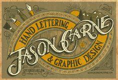 New Vintage Type - Jason Carne Trade Card - Final by Jason Carne