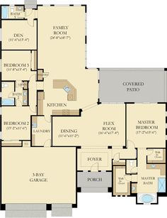 7 The Torrey Pines Plan Ideas Torrey Pines New House Plans Lennar