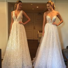 Bridal Fashion Week was all about the new @bertabridal collection. Absolutely divine ️