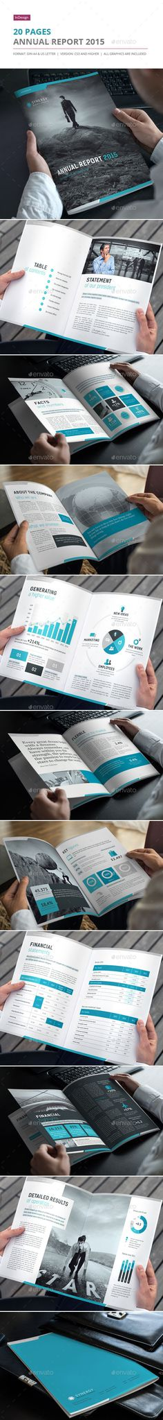Annual Report 2015 - Informational Brochures