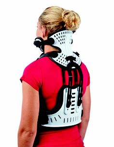 Brought to you by BraceAbility, the Cybertech CTO incorporates the design of a halo back brace without the headpiece and provides non-invasive restriction and immobilization of the cervial and upper thoracic spine. The cervical thoracic orthosis is used to treat Jefferson's fractures, light wedge fractures, post spine trauma, neck arthritis, acute cervical pain, and spinal stenosis.  To see other neck braces go to…