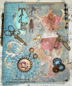 Love altered art and mixed media