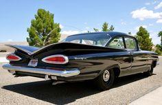 1959 Chevrolet Biscayne 300 HP V-8 Police Pursuit Car.