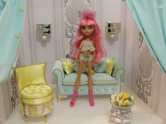 Lace lingerie for dolls Ever After High and Monster High by Dress4bjd on Etsy
