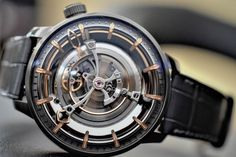 Optimus Maximus – Kerbedanz Unveils Maximus, Possibly The Largest Tourbillon Ever In A Wristwatch