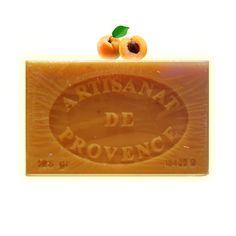 ✭ Savon de Marseille abricot 125g - Exfoliant peaux grasses et normales ✭ Savon de Marseille EXFOLIANT. Un savon de provence aux noyaux d'abricot. Une composition unique du sud de la France..