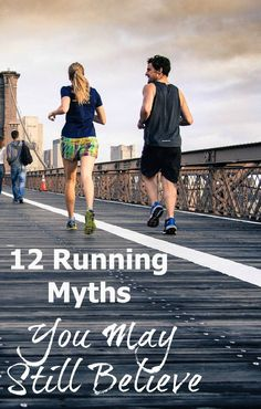 """There are a lot of """"facts"""" about running that new runners in particular are led to believe. Even experienced runners probably believe some of the so-called truths about running. Read on while we bust up some running myths."""