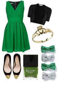 What to wear on St Patricks Day! // http://thedizaincollective.com