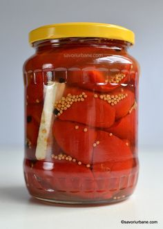 Pickels, Artisan Food, Romanian Food, Tasty, Yummy Food, Preserving Food, Goodies, Food And Drink, Cooking Recipes