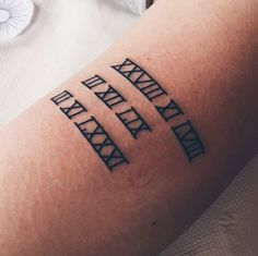 dates tattoo by Kohlmeisen on DeviantArt