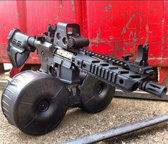 AR-15 pistol with BETA-C magazine