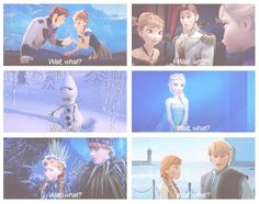 I haven't seen frozen and everyone talks about it