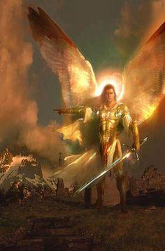 Un'illustrazione dell'arcangelo Gabriele