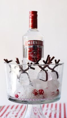 Holiday Office Party Hacks | Reindeer Ice
