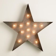 Star Marquee Light | World Market
