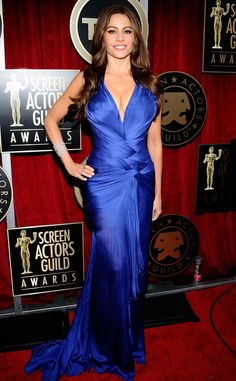 6. 2011 Screen Actors Guild Awards from Sofia Vergara's Top 10 Red Carpet Looks | E! Online
