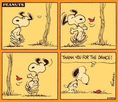 Snoopy - It must be Fall.