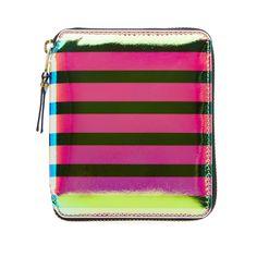 Comme des Garcons SA2100CS Crazy Stripes Wallet (Multi)
