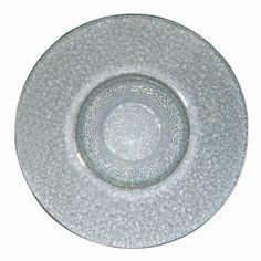 Steelite Float Glass Plate - Size: 270mm. Box quantity: 12.