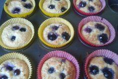 Blueberry Friands...homebaked