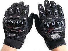 653b812d7a2 Motorcycle Accessories Pro-Biker Motocross Racing ATV UTV Outdoor Sport  Finger Protective Carbon Fiber Gloves