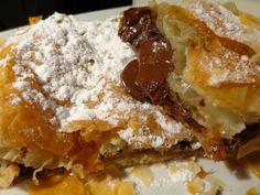 Greek Sweets, Greek Desserts, Greek Recipes, Cookbook Recipes, Dessert Recipes, Cooking Recipes, Food Processor Recipes, Tart, Deserts