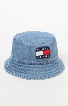 Tommy Jeans  90s Sailing Denim Bucket Hat 2efea7f2204c