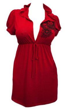 Plus size Dark Red Low cut v-neck Hoodie top - 2X eVogues Apparel,http://www.amazon.com/dp/B007ZYVNCI/ref=cm_sw_r_pi_dp_WvcGrb5C534A4897