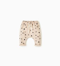 Image 1 of Triangle trousers from Zara