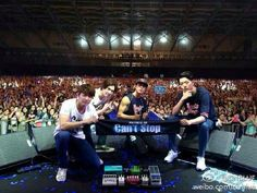 CNBLUE can't stop live Taipei