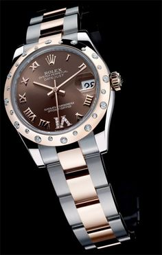 Classic. If you are to buy one nice watch in your lifetime, buy a Rolex. Never goes out of style.
