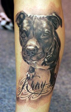 Tattoo by Jeff Gogue Would it be ridiculous to get Jayda on my thigh?
