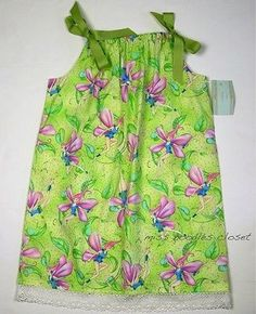 NWT Girls Custom Boutique Handmade FAIRY Pillowcase Dress 6 6X 7 NEW kw | Clothing, Shoes & Accessories, Kids' Clothing, Shoes & Accs, Girls' Clothing (Sizes 4 & Up) | eBay!