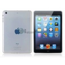 Glossy Surface Design TPU Protective Case for iPad Mini (Transparent)