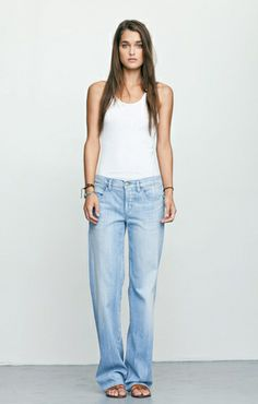 i love these citizens of humanity slouchy jeans, perfect for hanging out at home!