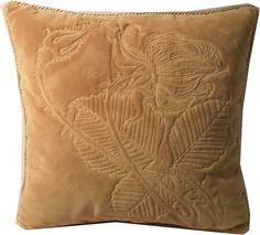 Unikatowa haftowana na welurze poduszka z kolekcji Wyspiański wg  rysunku Róża Wyspiańskiego. Wykonywana na zamówienie. Embroidered pillow decotative