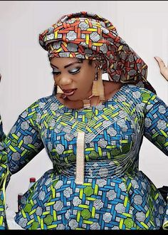 get the latest and most trendy Ankara Styles of the this year 2019 that will inspir African Blouses, African Lace Dresses, African Dresses For Women, African Attire, African Fashion Ankara, Latest African Fashion Dresses, African Print Fashion, Africa Fashion, Ghanaian Fashion